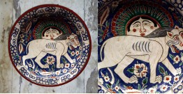 सजावट ❦ Hand Painted Turkish Wall Plate ❦ 4