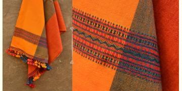 Salt Deserts of Kutch ❄ Woolen stole { 10 }