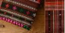 Handwoven woollen Shawl (Black), Kutch