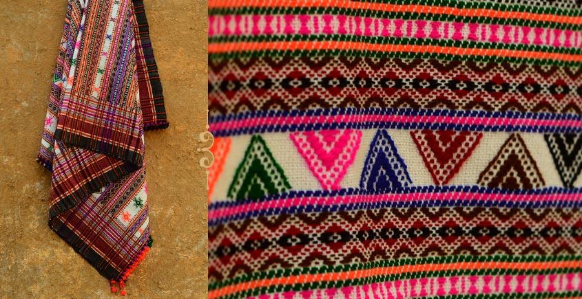 Winter Hop ⚹ Full Bharat Shawl { Dhabro ❅ woolen } - U
