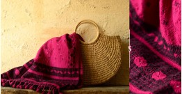 Envoy of Rainbows ~ handwoven Shawl X