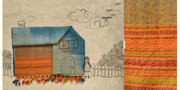 Skyfall ❆ Handwoven Woolen Stole ❆ 1