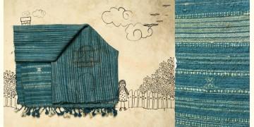 Skyfall ❆ Handwoven Woolen Stole ❆ 6