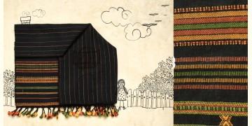 Skyfall ❆ Handwoven Woolen Stole ❆ 11
