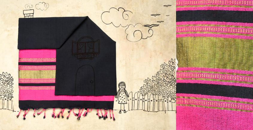 Skyfall ❆ Handwoven Woolen Stole ❆ 25