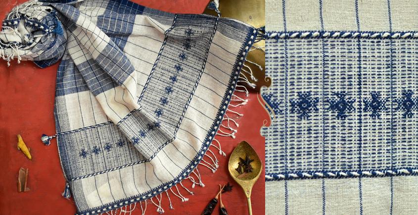 ओदन | Odan ✥ Handwoven ✥ Kala Cotton Stole ✥ 11