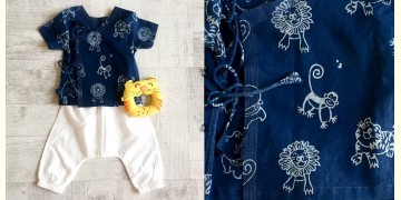 Block Printed . Organic Cotton . Kids Garment ★ 11