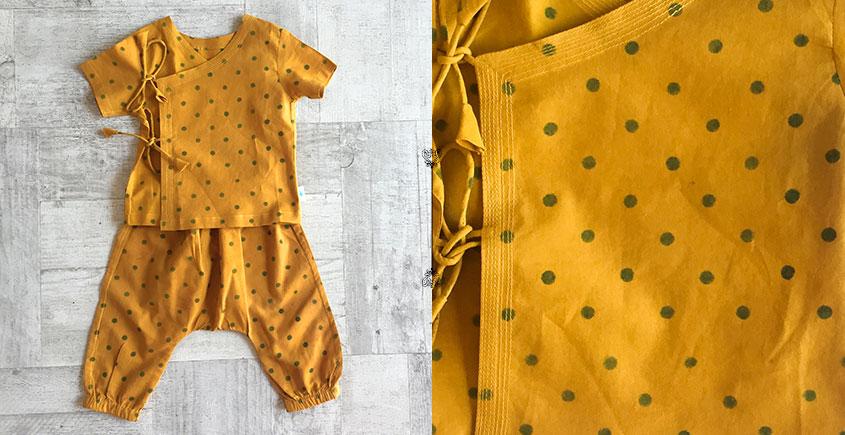 Block Printed . Organic Cotton . Kids Garment ★ 14