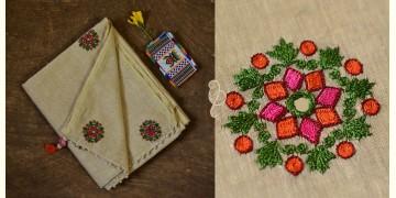 सूरजमुखी ✺ Khadi Silk Saree { 9 }