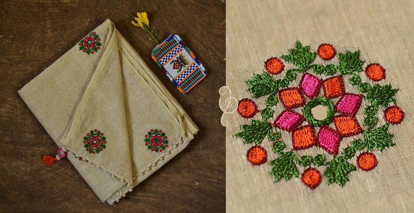 सूरजमुखी ✺ Handwoven Silk Saree { 9 }
