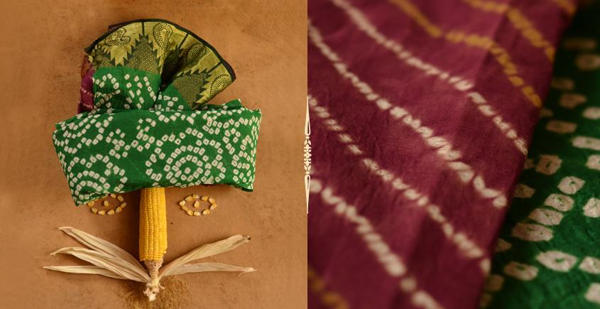 मकई ❀ Bandhani & Leheriya ❀ Cotton Sarees ~ 10