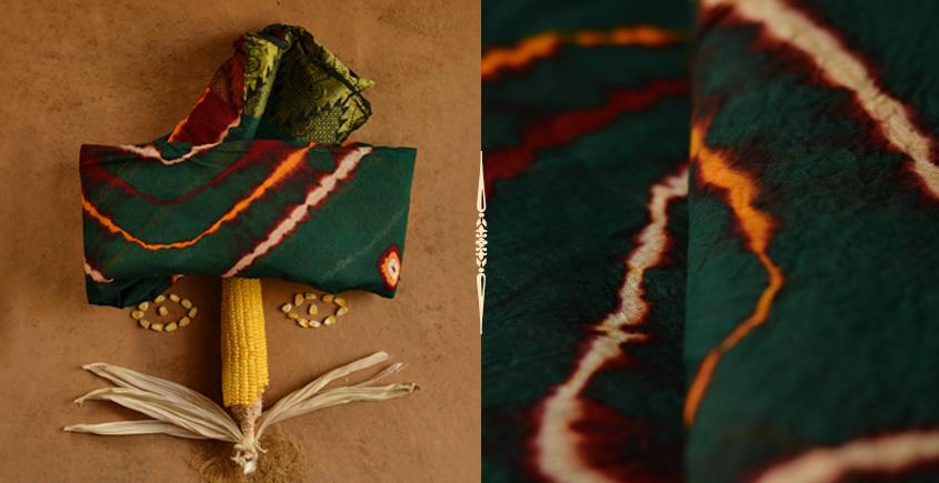 मकई ❀ Leheriya ❀ Cotton Sarees ~ 18