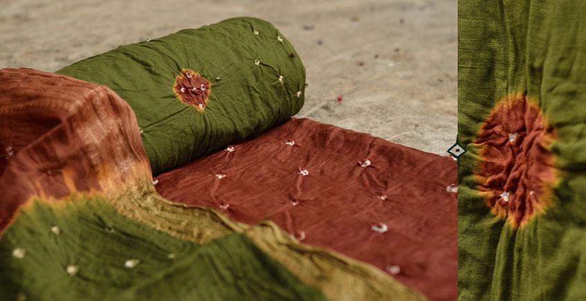 रंग बिरंगी ~ Bandhani - Cotton Dress Material -=❈( 10 )❈=-