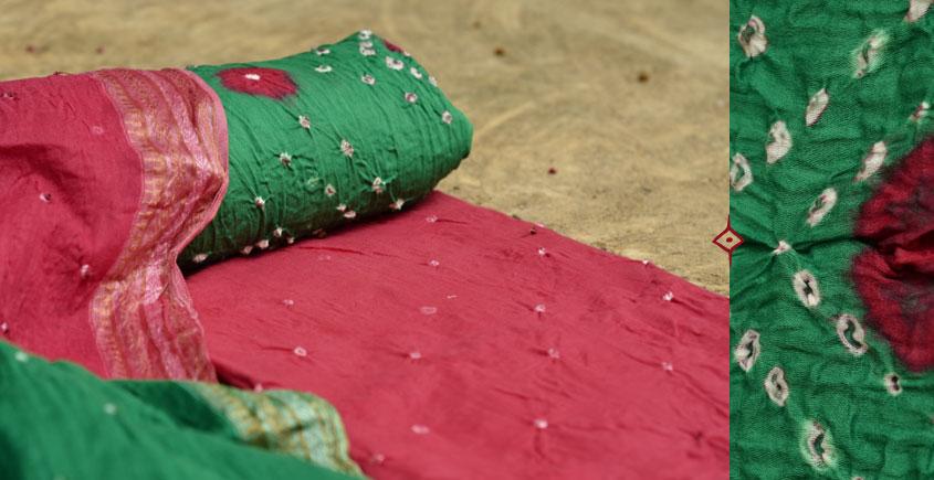 रंग बिरंगी ~ Bandhani - Cotton Dress Material -=❈( 11 )❈=-