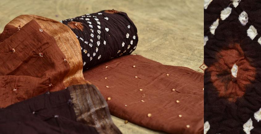 रंग बिरंगी ~ Bandhani - Cotton Dress Material -=❈( 12 )❈=-