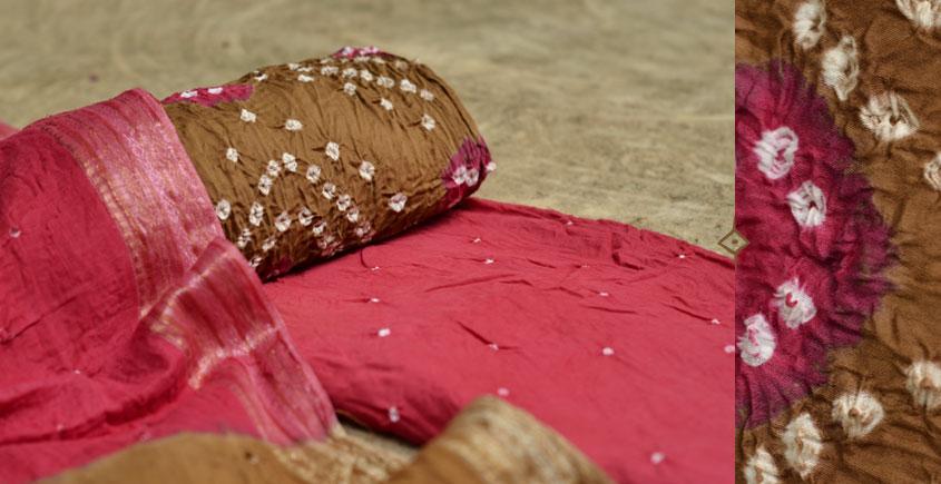 रंग बिरंगी ~ Bandhani - Cotton Dress Material -=❈( 13 )❈=-
