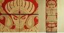 Jute Wall Art ~ Durga { Design 5 }