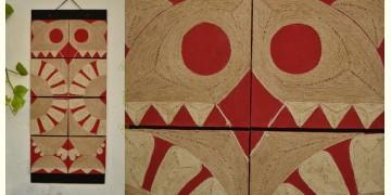 Jute Wall Art ~ Bhalu { Design G }