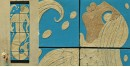 Jute Wall Art ~ Jalpari { Design P }
