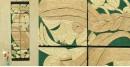 Jute Wall Art ~ Women { Design Q }