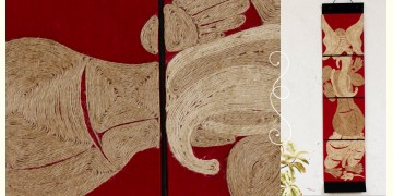 Jute Wall Art ~ Ganesha { Design H }