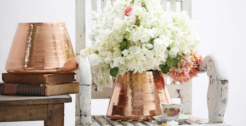 ताम्र ✤ Russet Vase { Single Piece }
