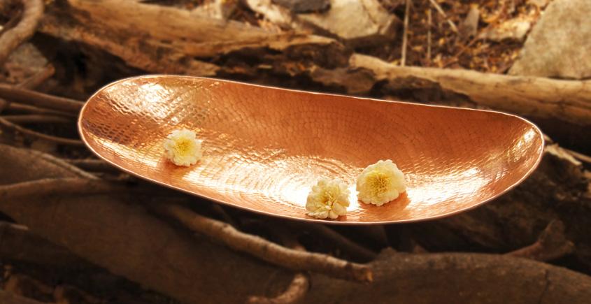 ताम्र ✤ Palm Platter