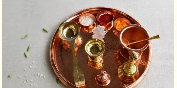 ताम्र ✤ Prayer Platter
