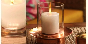 ताम्र ✤ Hurricane Lamp