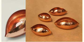 ताम्र ✤ Copper Pod Tea Light ~ Large