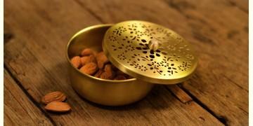 Courtyard ⚛ Amber Brass Nut Case ⚛ 2