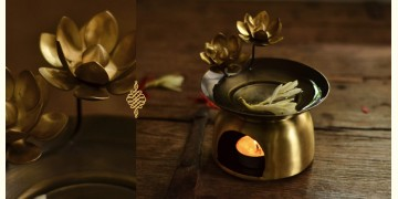 Courtyard ⚛ Ganga Antique Brass Mugdha Diffuser ⚛ 21