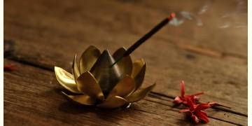 Courtyard ⚛ Ganga Antique Brass Suggandhani Incense Holder ⚛ 27
