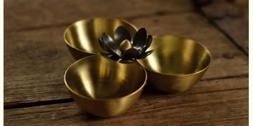 Courtyard ⚛ Ganga Antique Brass Kumkum Bowl ⚛ 29