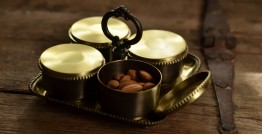 Courtyard ⚛ Rajbhog Mukhwas Set with Square Tray ⚛ 39