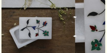 तराश ☘ Rectangle box white color inlay ☘ 11