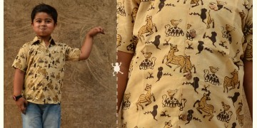 Children & Their Clothes ❢ Block Printed Shirt ❢ 3
