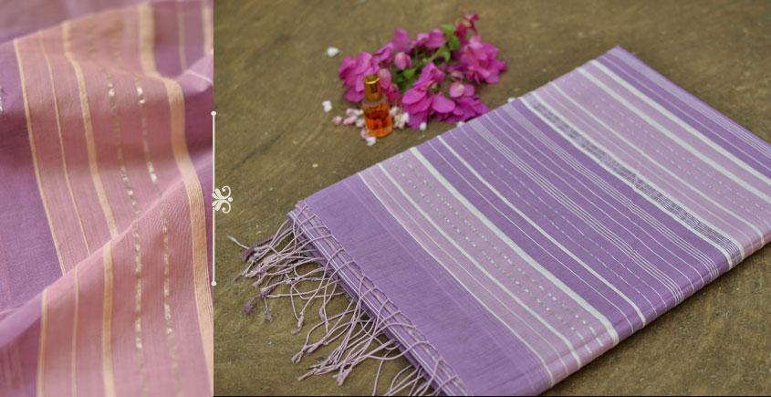 Urvara ⚘ Organic Mercerised Cotton Saree ⚘ 14