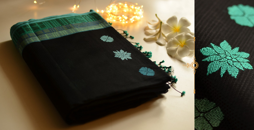 Tara ☆ Organic Mercerised Cotton Saree ☆ 15