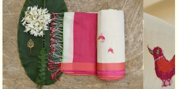 Brinda ❂ Organic Cotton Saree  ❂  2