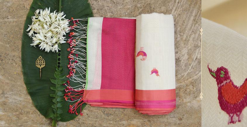 Brinda ❂ Organic Cotton Saree  ❂  2