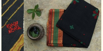 Manjari  ⚵  Kasuti  ⚵  Cotton Saree . 10