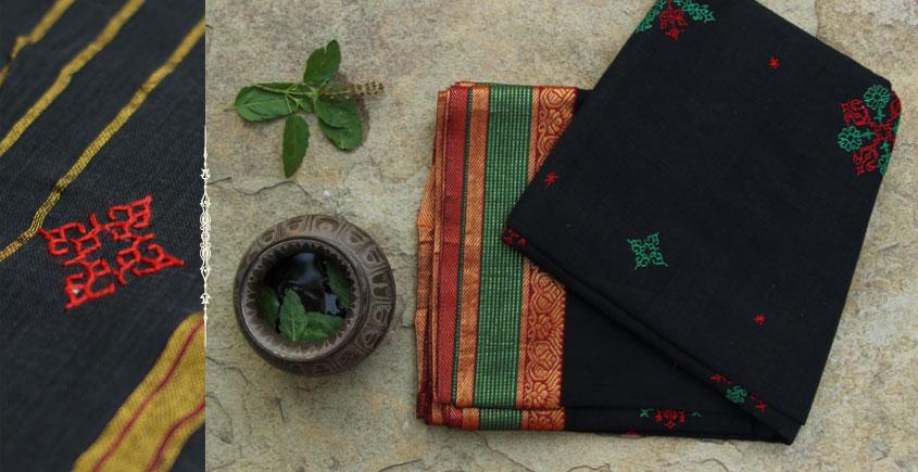 Manjari  ⚵  Kasuti  ⚵  Cotton Saree . 10