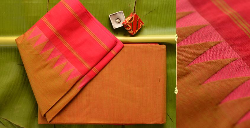Vishnu Priya ♢ Chettinad Cotton Saree ♢ { 3 }