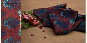 Mātulai ❆ Block printed ❆ Tussar silk dupatta ~ 16