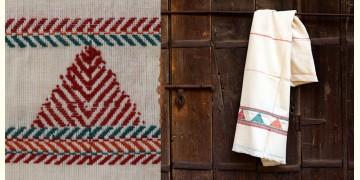 Mandavi ✲ Handwoven Khadi Cotton Stole ✲ 1