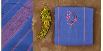 Mirch Masala ☙ Embroidered . Cotton Saree  ☙ F