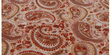 Sanganeri ✽ Hand Block Printed ✽ Cotton Fabric ~ N