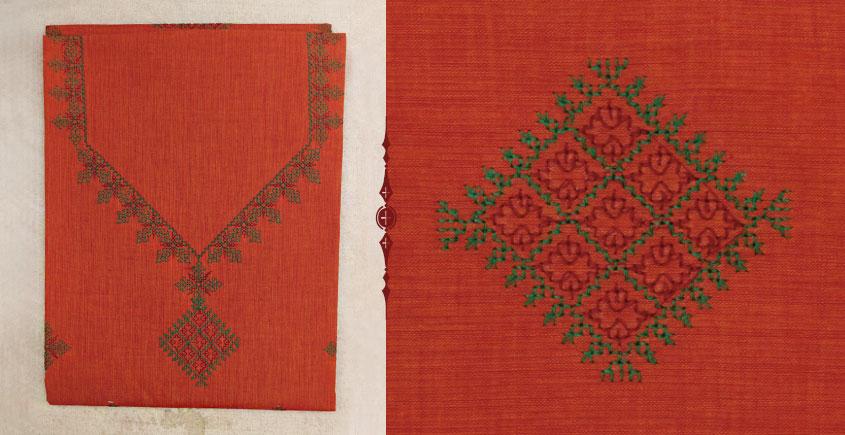 Kasuti embroidery ⚵ Kurta material ⚵ 23