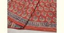 Saheli ☘ Natural Color . Block Printed . Kalamkari Saree ☘ 16